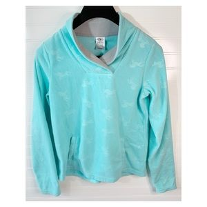 Athletic Works Baby Blue Unicorn Pullover